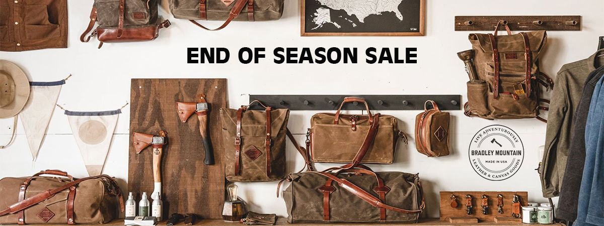 Bradley Mountain End Of Season Sale
