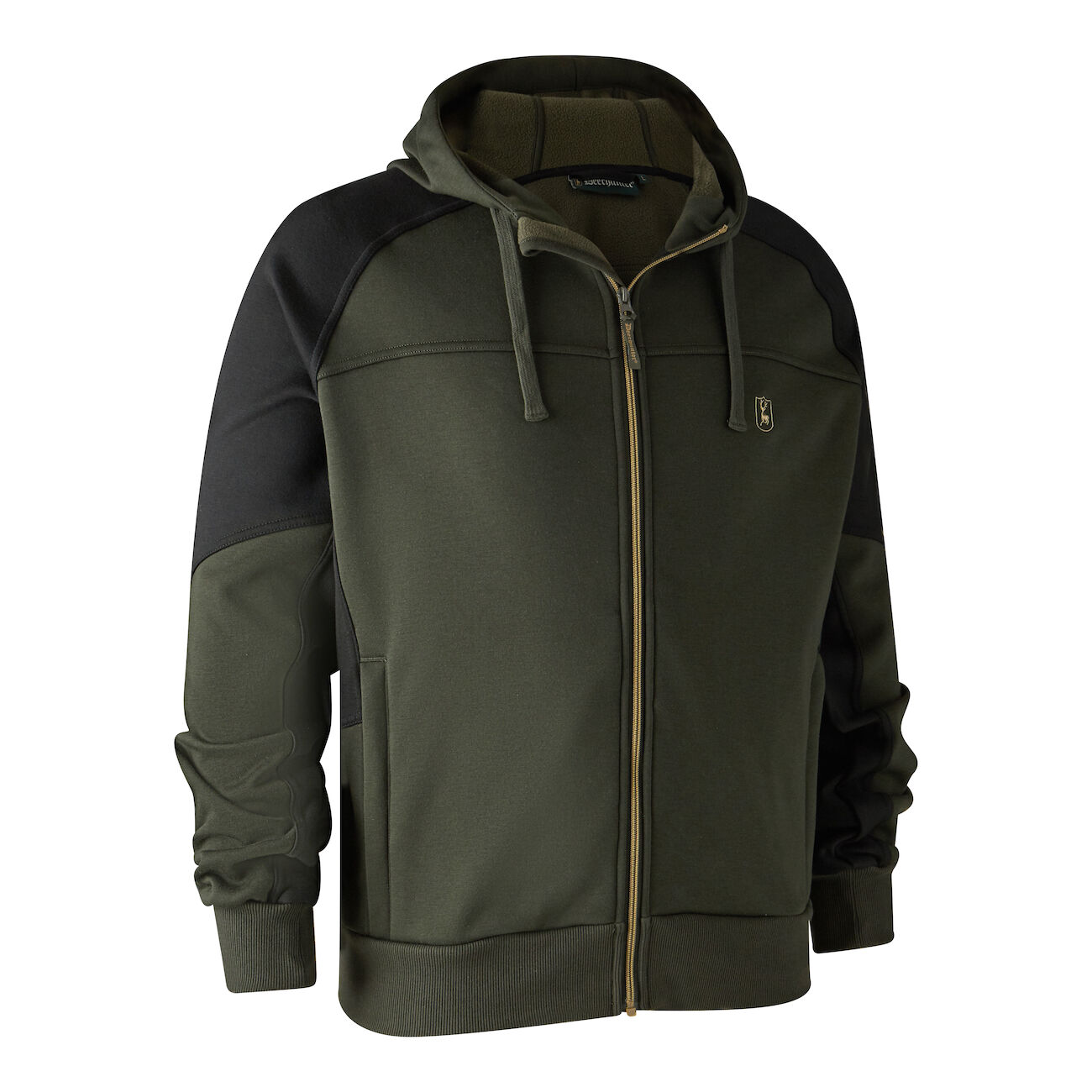 Deerhunter Rogaland Sweat with hood - Adventure Green