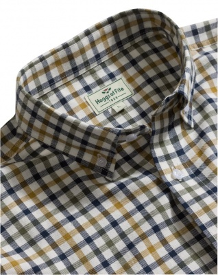 Hoggs of Fife - Trevose Short - Sleeve Cotton Shirt