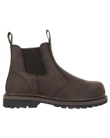 Hoggs Of Fife Zeus Safety Dealer Boot - Crazy Horse Brown