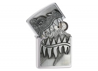 Zippo Surprise Dragon Brushed Chrome Regular Lighter