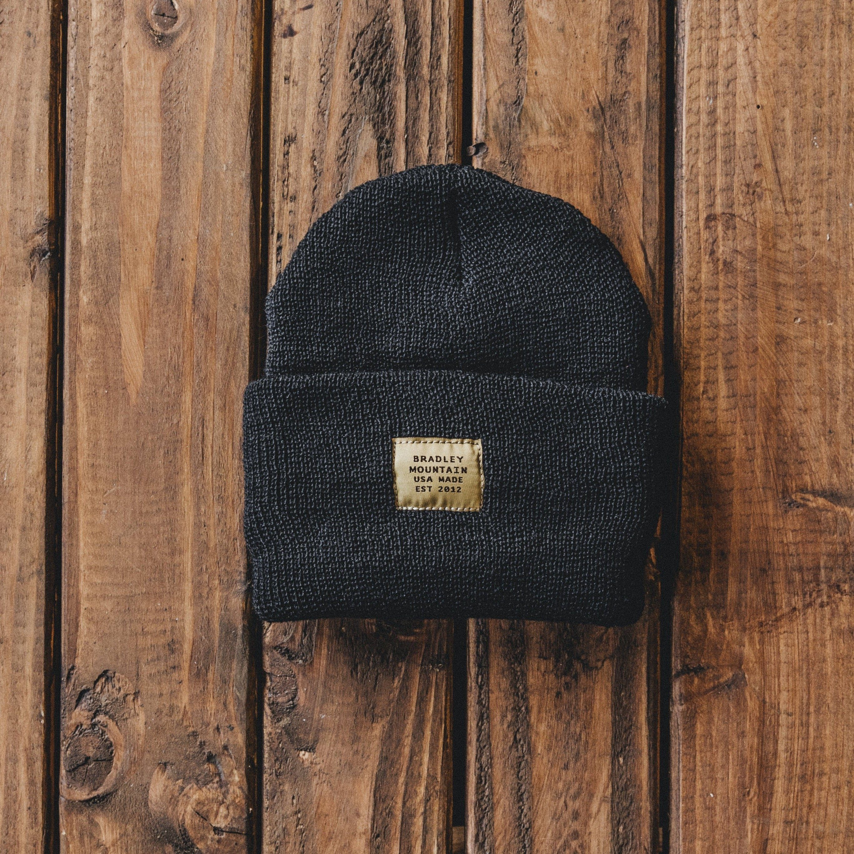 Bradley Mountain - Service Cap - Black