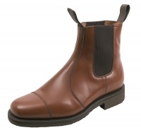 Hoggs of Fife - Ayr Market Boot - Leather Sole