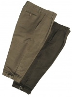 Hoggs of Fife - Moleskin Breeks Dark Olive