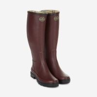 Le Chameau Giverny Jersey Lined Womens Boot