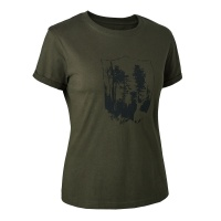 Deerhunter Lady T -Shirt with Deerhunter Shield