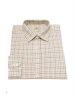 Hoggs of Fife Pure Cotton Tattersall Check Shirt