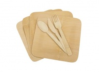 UST Bamboo Dinner Set