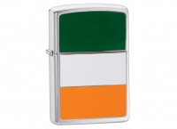 Zippo Ireland Brushed Chrome Regular Lighter