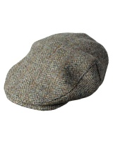 Hoggs Of Fife Harris Tweed Mens Cap