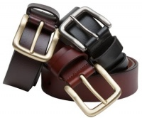 Hoggs of Fife - Luxury Leather Belts - Black