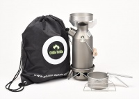 Ghillie Kettle Maverick and Cook Kit - Hard Anodised