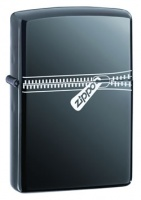 Zippo Zipper Black Ice Regular Lighter