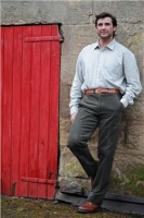 Hoggs of Fife Monarch Moleskin Trouser - Lovat