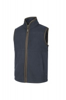 Hoggs of Fife Woodhall Junior Fleece Gilet - Navy