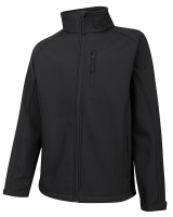 Hoggs Of Fife Magma Showerproof Softshell Jacket - Black