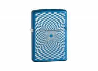Zippo Minimalism Design Cerulean Regular Lighter