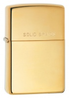 Zippo High Polish Brass Regular Lighter
