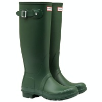 Hunter - Womens Original Tall Wellington Boots - Hunter Green