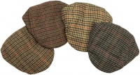 Hoggs of Fife Waterproof Tweed Cap