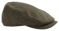 Hoggs of Fife Harewood Lambswool Tweed Cap -  Waterproof
