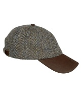 Hoggs Of Fife Harris Tweed Baseball Cap - One Size
