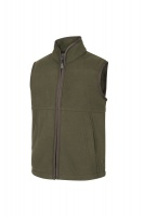 Hoggs of Fife Woodhall Junior Fleece Gilet - Green