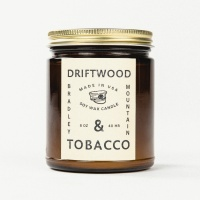 Bradley Mountain - Driftwood & Tobacco Candle