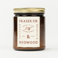 Bradley Mountain - Fraser Fir & Redwood Candle