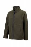 Hoggs of Fife Woodhall Junior Fleece Jacket - Green