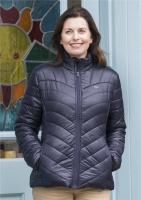 Hoggs of Fife - Wilton Ladies Padded Jacket - Dark Navy