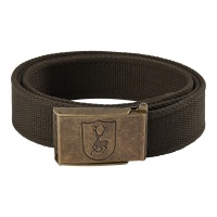 Deerhunter Canvas Belt, 4 cm (W) - Art green - 130 cm